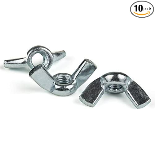 SNG250 Ten 10 SNUG Fasteners 3//8-16 Forged Steel Zinc Plated Wing Nuts