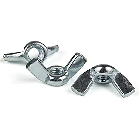 1//4-20 Forged Steel Zinc Plated Wing Nuts BCP Fasteners Twenty 20 BCP248