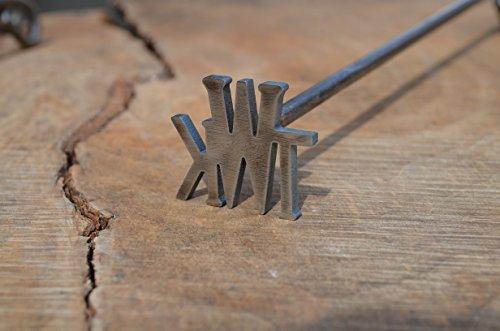 Monogram Branding Iron, Custom Brander ()