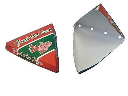 """200 Pizza Slice Cajas Pizza Slice Cajas Caja de pizza pizza Caja para pizza pieza"""""""