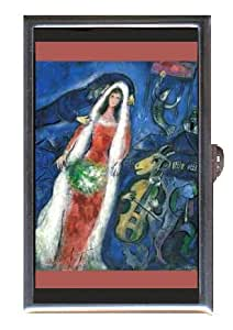 MARC CHAGALL LA MARIEE 1927 Coin, Mint or Pill Box: Made in USA!