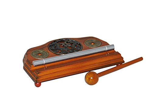 Meditation Energy Chime Single Tone with Mallet Exquisite Musical Toy Percussion Instrument by THY COLLECTIBLES