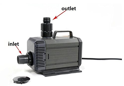 Top 10 best pond pumps submersible 370 gph top reviews for Best pump for a small pond
