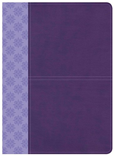 CSB Study Bible, Purple LeatherTouch