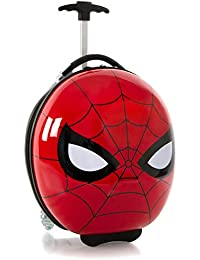 "America Marvel Spiderman Boy's 16"" Rolling Carry On Luggage [Red]"