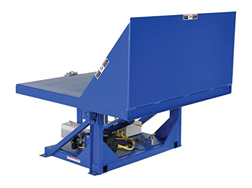 - Vestil EM1-500-4848-2 Efficiency Master Tilt Table, 2000 lb Capacity, 48