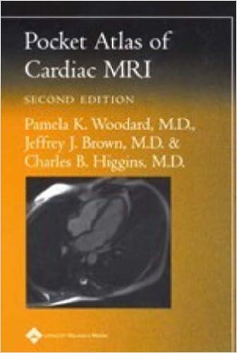Pocket Atlas Of Cardiac Mri Radiology Pocket Atlas Series Pamela