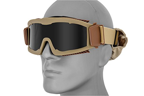 Lancer Tactical Airsoft Safety Goggles W/Stylized Vents