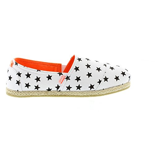 Black Espadrille blanco White Jetstream Star 6OxqZnfw