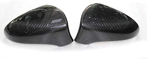 JTSGHRZ Auto Rückspiegelabdeckung Für ES 250 350 F Sport IS250 IS300 CT200h GS300 GS350, Car Carbon Fiber Rückspiegelkappen