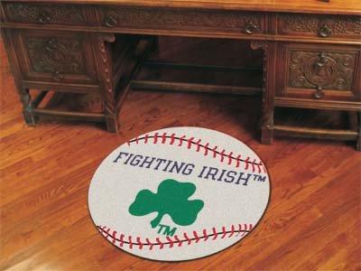Notre Dame Baseball Rug - Fanmats Notre Dame Baseball Rug