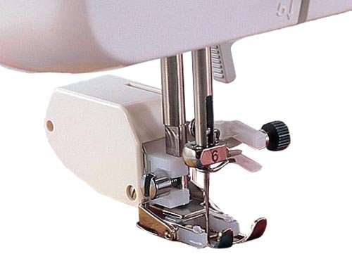 Brother Walking Foot for Quilting and Sewing Multiple Layers, SA107, White