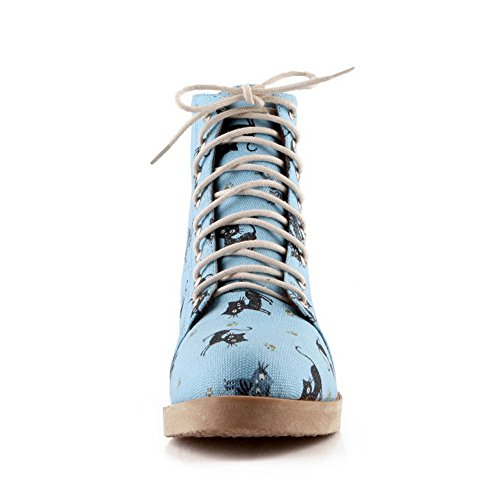 BalaMasa , Sandales Compensées femme Bleu