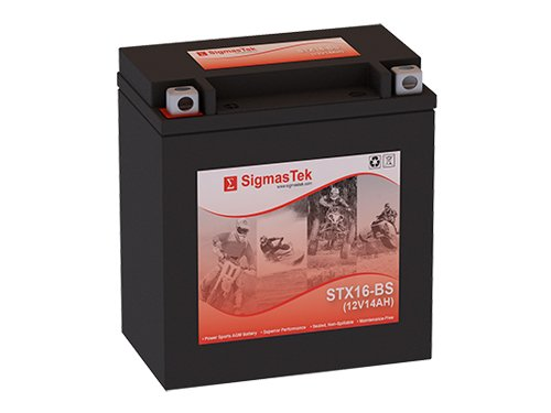 12 Volt 14 Amp Hour Sealed Lead Acid Battery Replacement with NB Terminals by SigmasTek STX16-BS