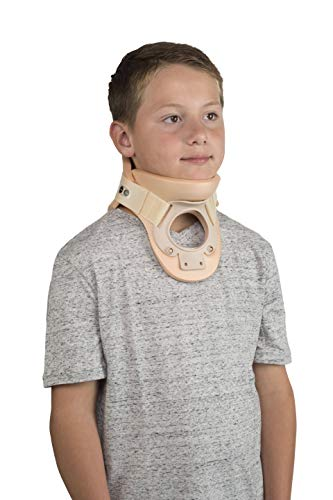 Ossur Philadelphia Tracheotomy Collar - Maintain Neutral Cervical Alignment & Range of Motion Restriction, Ventilated Technology for Increased Comfort & Breathability (Medium 5.25