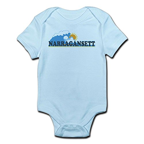 CafePress - Narragansett RI - Waves Design - Cute Infant for sale  Delivered anywhere in Canada