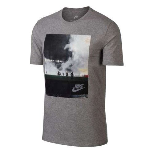 Nike Herren M Nsw Concept Blue 5 Grafik Kurzarm T-shirt  XX-Large|Grau