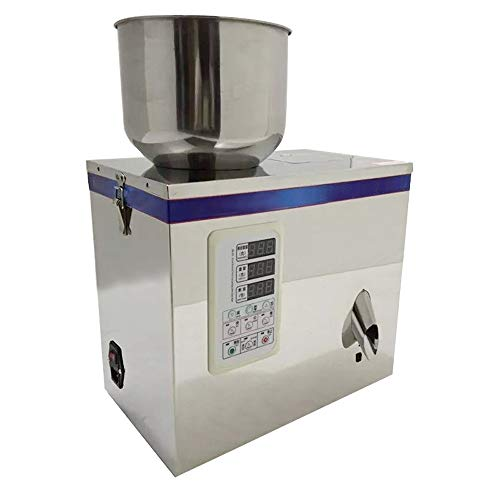 Multifunctional Stainless Steel Particle Powder Filling Packing Machine (Range 2-100g,10-20/min) Weighting and Packaging MachineFor Food Medicine ()