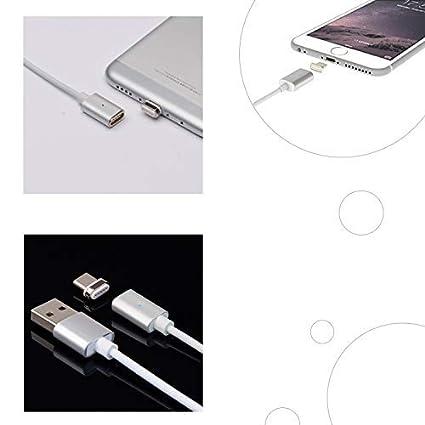 Cable de Carga para iPhone Magnetic Lightning 3.3ft//6.6ft//10ft Nylon Trenzado de Carga r/ápida Cable USB Im/án con Pantalla LED para iPhone X 8 Plus 7 Plus 6 Plus 6s Plus 5 5S SE Lot