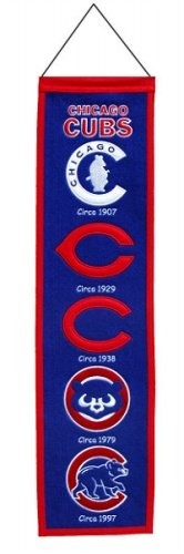 Chicago Cubs Heritage Banner by Winning Streak