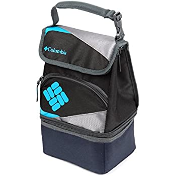 Columbia Silver Ridge Dual Compartment Lunch Pack, Black
