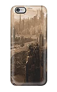 Hot EPhRLxU3963YiYwS Case Cover Protector For Iphone 6 Plus- City In Ruins