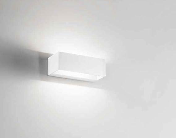 Isyluce piccolo applique design moderno led w k rettangolare