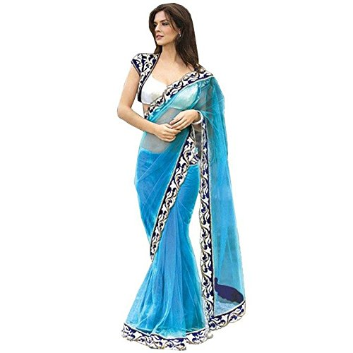 Fab-Glory-Womens-Faux-Georgette-Heavy-Designer-Saree-With-Blouse-Piece