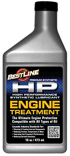 BestLine Superior Lubricants HP Long Life Engine Treatment - Reduce Wear by Over 80%