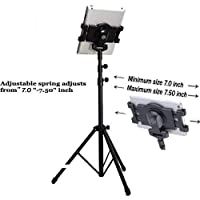 ICEBERG MAKERS 360 Degree Rotating Multi-Direction Tripod Stand Holder 7-10 inch for IPad, Tablet PCs