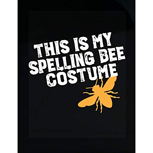 Merch Chimp This is My Spelling Bee Costume Funny Beekeeping Art for Halloween Apairist - Transparent Sticker