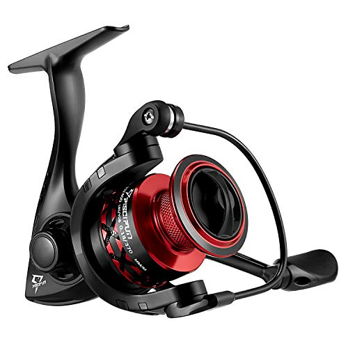 Piscifun Flame Spinning Reels Light Weight Ultra Smooth Powerful Spinning Fishing Reels (2000 Series) (Best Small Fishing Reel)