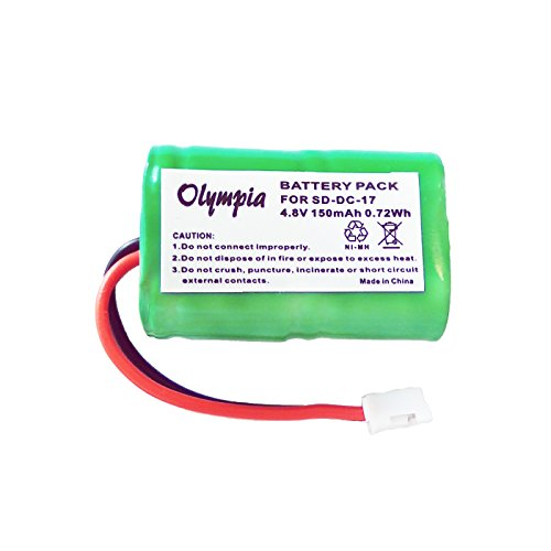 DC-17 MH120AAAL4GC Battery for SportDog 400 SD-400 SD-800 FR200 Receivers