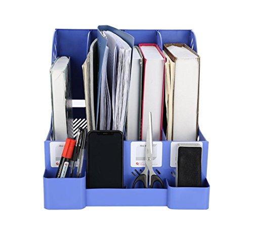 Asixx Clasificadora, Archivador, Caja de Almacenamiento de Archivos, de PP Durable, para Ayudar A Ordenar Archivos de Manera