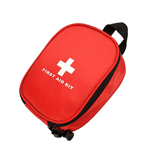 Waterproof First Aid Kit Bag Red - 8