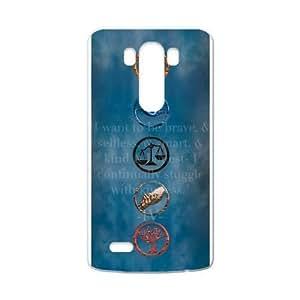 Image Divergent Movie Stars Custom Case Shell Cover for LG G3 (Laser Technology)