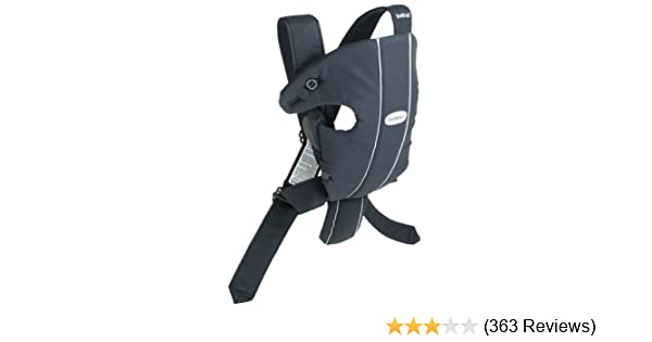 53575a14e83 Amazon.com   BABYBJORN Original Carrier - City Black (Discontinued by  Manufacturer)   Baby Carrier   Baby