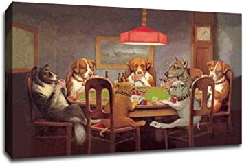 Dogs Playing Poker 1
