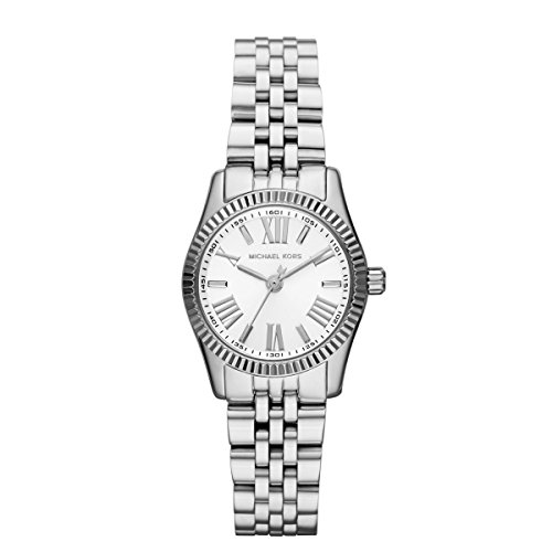 Michael Kors Women's MK3228 - Petite Lexington Stainless One Size by Michael Kors