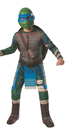 [Rubies Teenage Mutant Ninja Turtles Child Leonardo Costume, Medium] (Ninja Turtle Costumes Boys)
