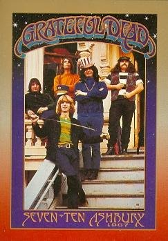 - Grateful Dead trading card (Band SevenTen Ashbury 1967) 1991 Brockum Legacy Series #8