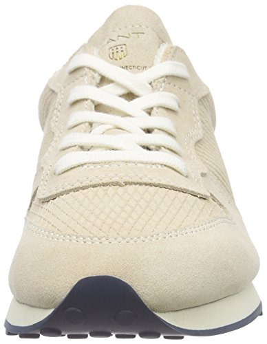 Gant Campus - Zapatillas Mujer Beige - Beige (putty cream beige G27)