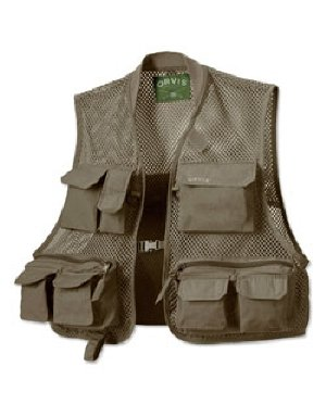 Orvis Clearwater Mesh Fishing Vest X Small Olive ()