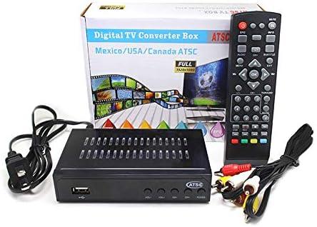 ZREAL - Receptor de sintonizador ATSC TV Box convertidor sintonizador 1080P HD Digital América del Norte: Amazon.es: Hogar