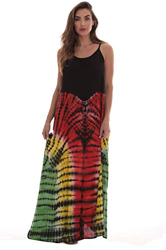 Riviera Sun Rasta Maxi Dresses for Women - India Tie