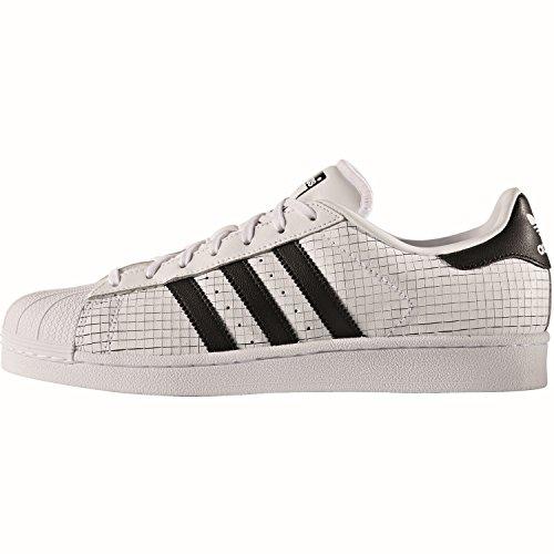 adidas originals Superstar Sneaker Schuh AQ8333, 38 2/3, white/core black/core black Weiß