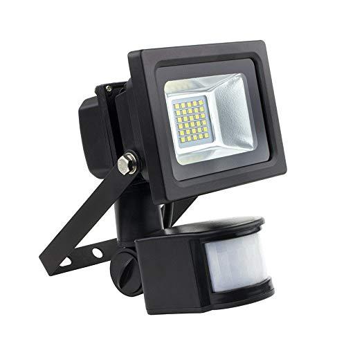 Foco Proyector LED SMD con Detector de Movimiento PIR 10W 120lm/W ...