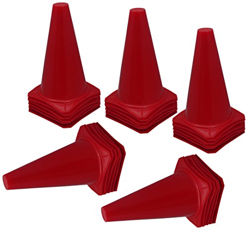 9 athletic cones - 8