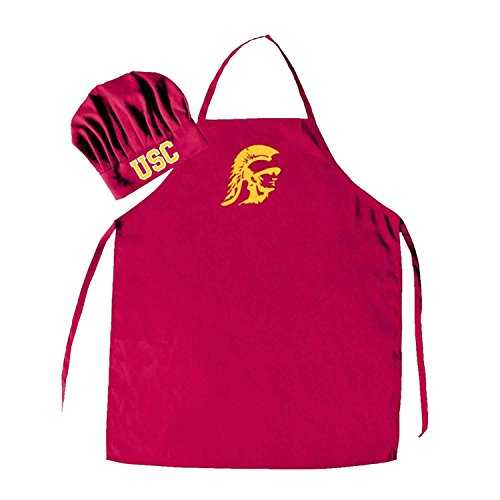 (Pro Specialties Group Southern California Trojans Chef HAT and Apron)