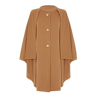 Wool & Cashmere Cape with Scarf